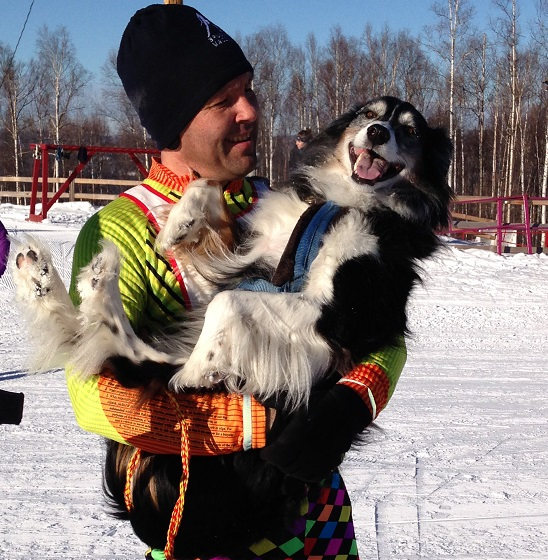 Skijor Racer with Dog_krull