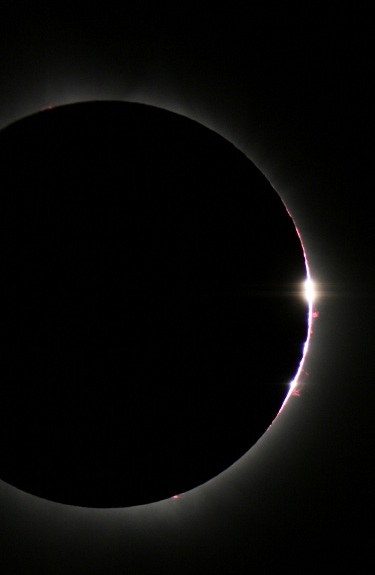 chromosphere solar eclipse