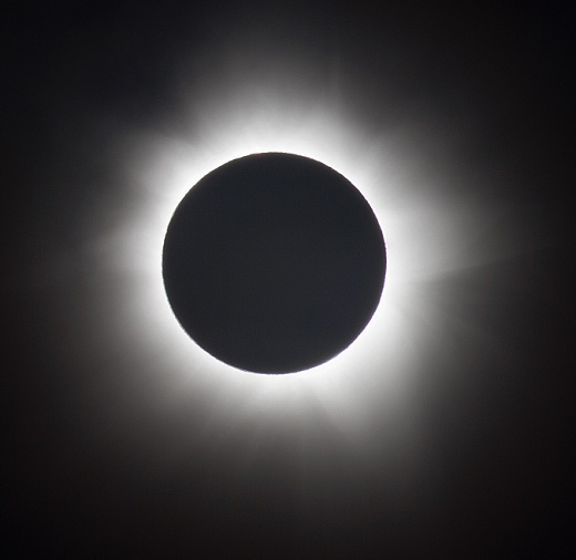corona of sun solar eclipse