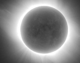 earthshine solar eclipse