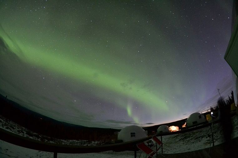 Aurora Borealis Alaska Viewing Oct 2019